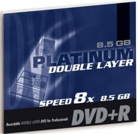 1 Platinum DVD+R Double Layer 8,5GB 240Min 8x Jewel Case - Bild vergr��ern