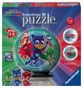 72 Teile Ravensburger 3D Puzzle Ball PJ Masks 11797