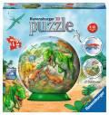 72 Teile Ravensburger 3D Puzzle Ball Reich der Dinosaurier 11838
