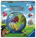 72 Teile Ravensburger 3D Puzzle Ball Kindererde 11840
