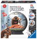 108 Teile Ravensburger 3D Puzzle Ball The Secret Life of Pets 12216