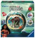 108 Teile Ravensburger 3D Puzzle Ball Disney Vaiana 12266