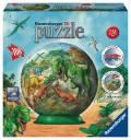 108 Teile Ravensburger 3D Puzzle Ball Im Reich der Dinosaurier 12267