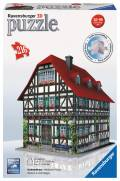 216 Teile Ravensburger 3D Puzzle Bauwerk Fachwerkhaus 12572