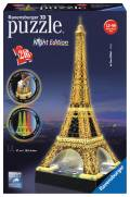 216 Teile Ravensburger 3D Puzzle Bauwerk Eiffelturm bei Nacht 12579 B-WARE