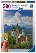 500 Teile Ravensburger Puzzle Gold Edition Märchenhaftes Schloss Neuschwanstein 13681
