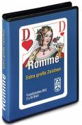 2 x 55 Blatt Ravensburger FX Schmid Spielkarten Rommé, Bridge, Canasta große Eckzeichen 27074