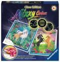 Ravensburger Mixxy Colors Wasserfarben Glow Edition 2er Set Treue Pferde 29439