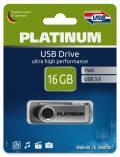 Platinum USB Stick 16GB Speicherstick TWS schwarz USB 3.0