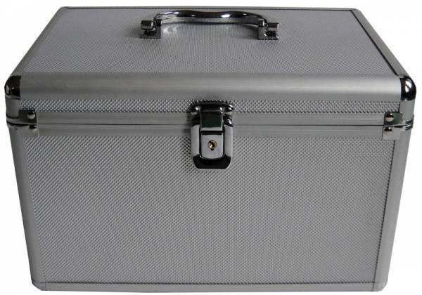 mediarange disc archive case dj koffer silber f r 120 bd cd dvd. Black Bedroom Furniture Sets. Home Design Ideas