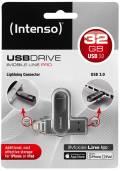 Intenso USB Stick 32GB Speicherstick iMobile Line Pro anthrazit USB 3.0 mit Apple Lightning