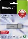 Intenso USB Stick 16GB Speicherstick Ultra Line silber USB 3.0