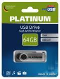 Platinum USB Stick 64GB Speicherstick TWS schwarz