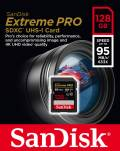 Sandisk SDXC Karte 128GB Speicherkarte Extreme Pro UHS-I U3 4K 95 MB/s V30 Class 10