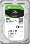 Seagate HDD interne Festplatte BarraCuda Pro 3,5 Zoll 6TB 256MB SATA III ST6000DM004