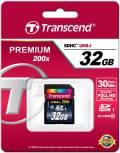 Transcend SDHC Karte 32GB Speicherkarte Premium 200x UHS-I Class 10