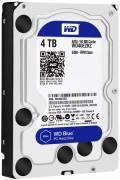 WD Western Digital HDD interne Festplatte Blue 3,5 Zoll 4TB 64MB SATA III WD40EZRZ