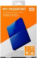 WD Western Digital HDD externe Festplatte My Passport 2,5 Zoll 3TB USB 3.0 blau