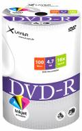 100 Xlayer Rohlinge DVD-R full printable 4,7GB 16x Shrink