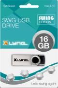 Xlyne USB Stick 16GB Speicherstick SWG schwarz