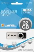 Xlyne USB Stick 32GB Speicherstick SWG schwarz