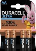 4 Duracell Ultra Power AA / Mignon / MX1500 Alkaline Batterien im 4er Blister