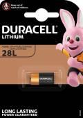1 Duracell Ultra Photo 28L / PX28L / 2CR11108 Lithium Batterie Blister