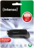 Intenso USB Stick 128GB Speicherstick Speed Line schwarz USB 3.0