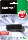 Intenso USB Stick 256GB Speicherstick Speed Line schwarz USB 3.0