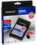 Intenso SSD interne Festplatte Top High-Speed MLC 2,5 Zoll 512GB SATA III