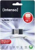 Intenso USB Stick 8GB Speicherstick Slim Line USB 3.0