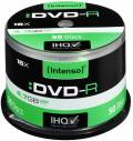 50 Intenso Rohlinge DVD-R 4,7GB 16x Spindel