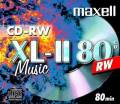 10 Maxell Rohlinge CD-RW Audio 80 Minuten Musik Jewelcase