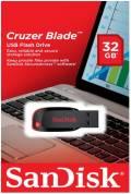 Sandisk USB Stick 32GB Speicherstick Cruzer Blade schwarz