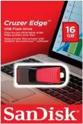 Sandisk USB Stick 16GB Speicherstick Cruzer Edge schwarz