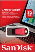 Sandisk USB Stick 32GB Speicherstick Cruzer Edge schwarz