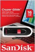 Sandisk USB Stick 16GB Speicherstick Cruzer Glide schwarz