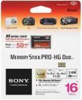 Sony Memory Stick Pro-HG Duo HX 16GB