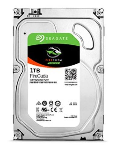 Seagate SSHD interne Festplatte FireCuda 3,5 Zoll 1TB 64MB SATA III ST1000DX002