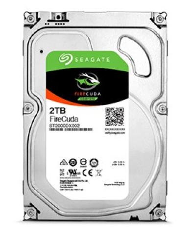 Seagate SSHD interne Festplatte FireCuda 3,5 Zoll 2TB 64MB SATA III ST2000DX002