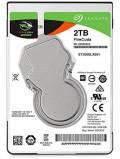 Seagate SSHD interne Festplatte FireCuda 2,5 Zoll 2TB 64MB SATA III ST2000LX001
