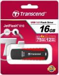 Transcend USB Stick 16GB Speicherstick JetFlash 810 schwarz USB 3.0