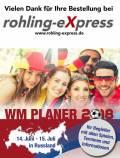 gratis Mini WM Planer für die Fußball Weltmeisterschaft 2018 in Russland