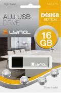 Xlyne USB Stick 16GB Speicherstick ALU silber