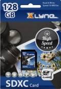 Xlyne SDXC Karte 128GB Speicherkarte UHS-I Class 10