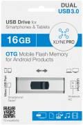 Xlyne USB Stick 16GB Speicherstick PRO OTG Dual USB 3.0 mit Micro USB Anschluss