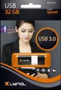 Xlyne USB Stick 32GB Speicherstick WAVE schwarz USB 3.0