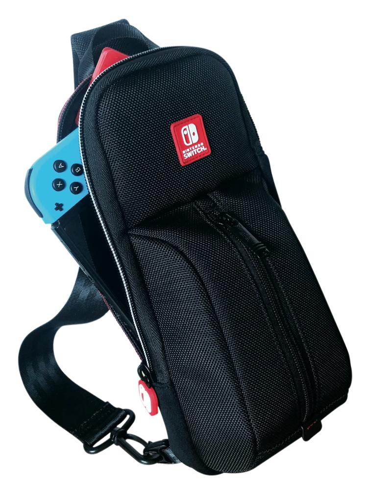 Bigben Nintendo Switch / Switch Lite Rucksack NNS101 Sling Bag schwarz AL111619