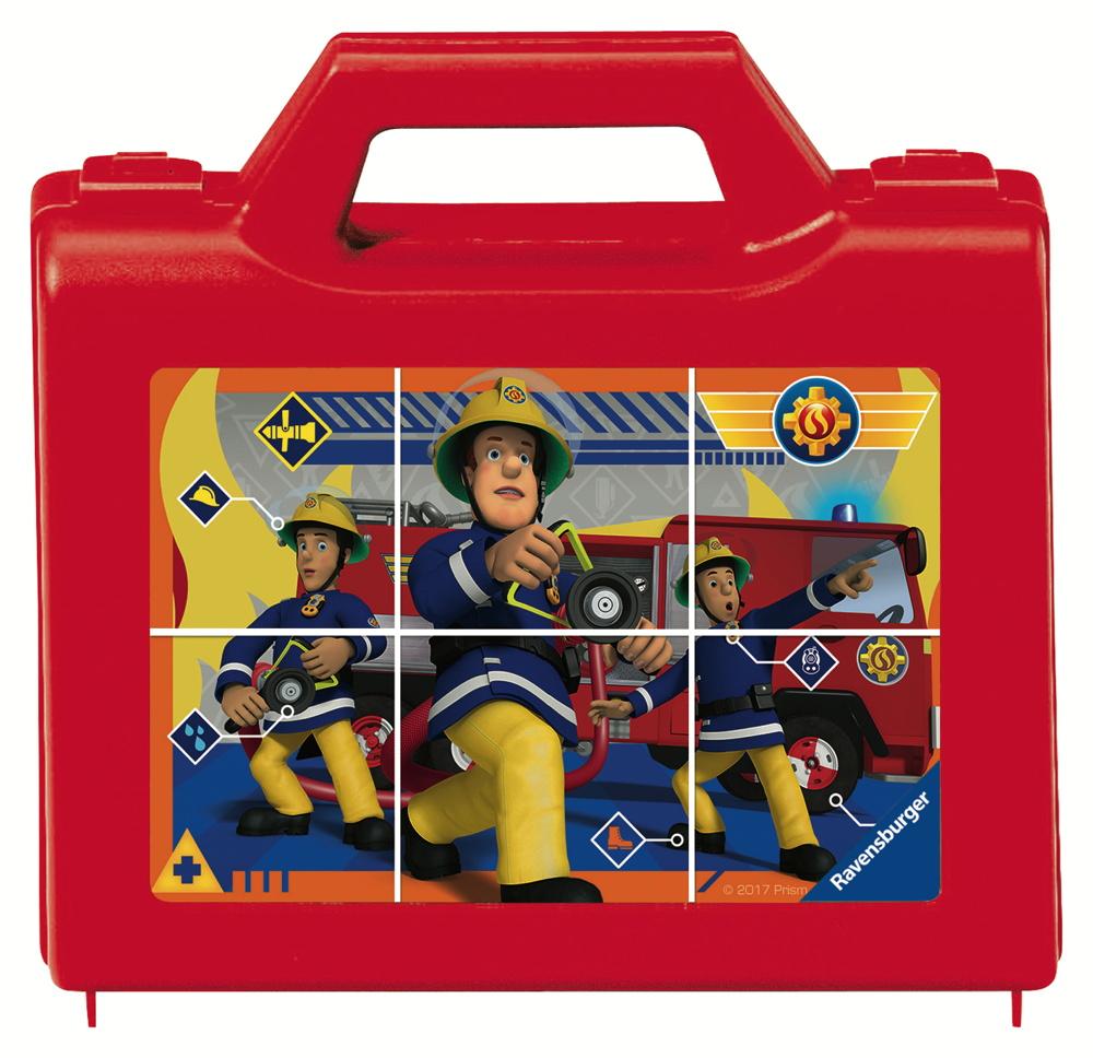 6 Teile Ravensburger Kinder Würfel Puzzle Feuerwehrmann Sam Sam, der tapfere Feuerwehrmann 07437
