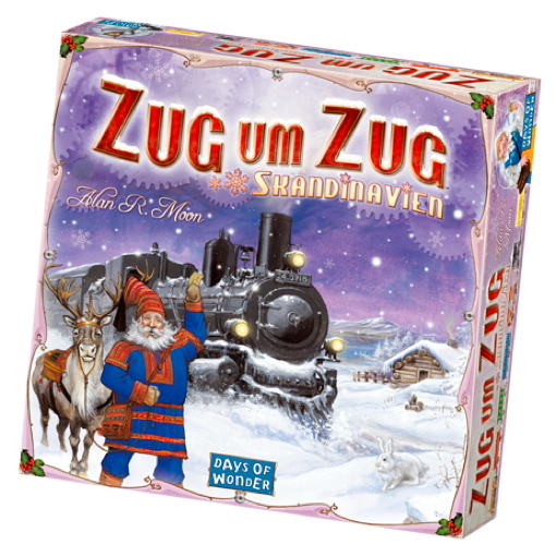 Days of Wonder Familienspiel Strategiespiel Zug um Zug Skandinavien 200508